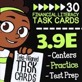 Math TEK 3.9E ★ The Benefits of a Savings Plan ★ 3rd Grade