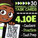 Math TEK 4.10E ★ Using Financial Institutions ★ 4th Grade
