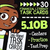 Math TEK 5.10B ★ Gross & Net Income ★ 5th Grade Financial