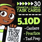 Math TEK 5.10D ★ Keeping Financial Records ★ 5th Grade Fin