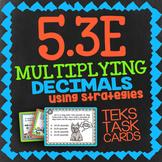 Math TEK 5.3E ★ Multiplying Decimals ★ 5th Grade STAAR Math Task Card Review
