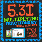 Math TEK 5.3I ★ Multiply Fractions & Whole Numbers ★ 5th Grade STAAR Math Review