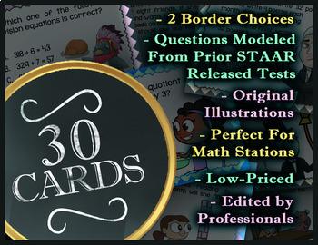 Math TEK 5.3J ★ Dividing Unit Fractions & Whole #s ★ 5th Grade STAAR Math Review