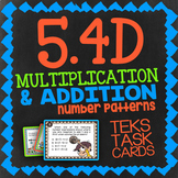 Math TEK 5.4D ★ Multiplication & Addition Number Patterns ★ 5th Grade STAAR Math