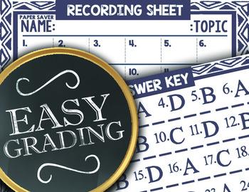 Math TEK 5.5A ★ Classifying 2D Shapes ★ 5th Grade STAAR Math Task Card Review