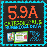 Math TEK 5.9A ★ Categorical Data & Numerical Data ★ 5th Grade STAAR Math Review