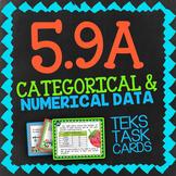 Math TEK 5.9A ★ Categorical Data & Numerical Data ★ 5th Grade STAAR Math Review