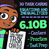 Math TEK 6.10B ★ One-Variable, One-Step Equations ★ 6th Grade STAAR Math Review