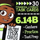 Math TEK 6.14B ★ Credit Cards Vs. Debit Cards ★ 6th Grade