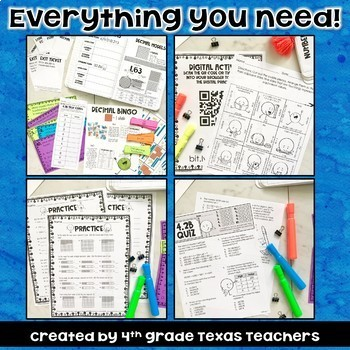 Place Value to Billions, Word From, Expanded Form, Decimals TEKS 4.2B