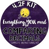 - Math TEKS 4.2F - Comparing & Ordering Decimals- tenths & hundredths
