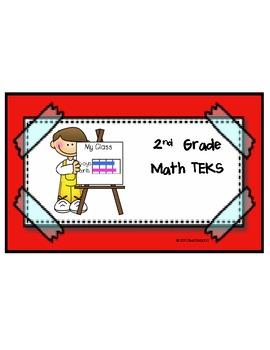 Math TEKS for 2nd Grade