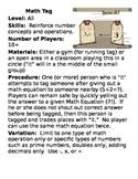 Math Tag