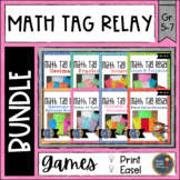 Math Tag Relay Bundle