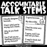 Accountability Talk Free Poster