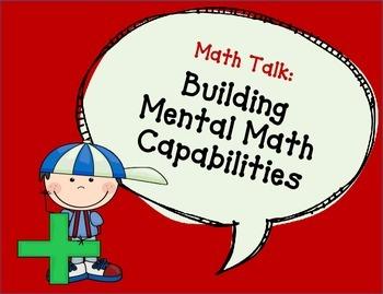 Math Talk Bubbles