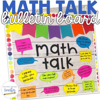 Math Talk {Bulletin Board}