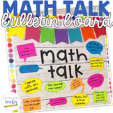 Math Talk {Bulletin Board}