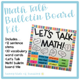 Math Talk Bulletin Board