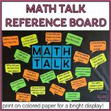 Math Talk Bulletin Board Posters