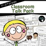 Classroom Talk Pack