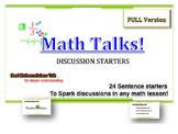 Math Talk Cards Full