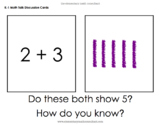 Math Talk Discussion Cards - Kindergarten, 1st Grade