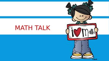 GEOMETRY...Math Talk! PowerPoint Presentation