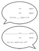 Math Talk Mats for Addition Subtraction and Numbers