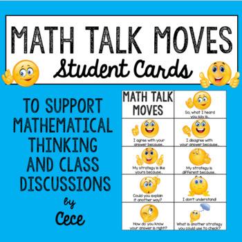 Math Talk Mini Poster