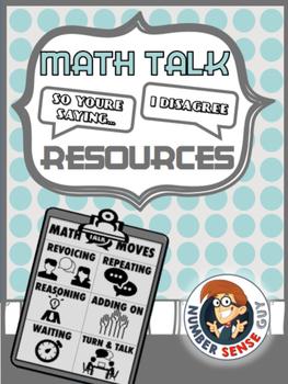 Math Talk Moves Poster Set