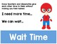 Math Talk Moves Posters & Help Sheet - Accountable Talk - Superhero Themed