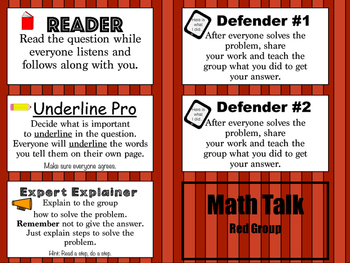 Math Talk: Pick a stick for flexible grouping
