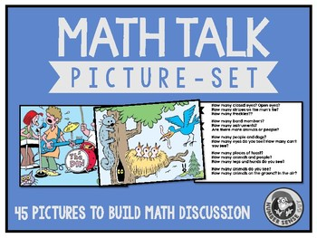 Math Talk Picture Set
