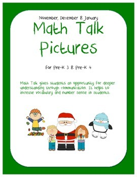 Math Talk Pictures: Nov-Jan