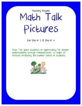Math Talk Pictures: Nursery Rhyme