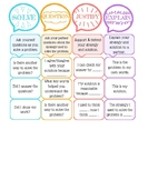 Math Talk (Poster & Desk Plate)