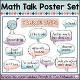 Math Talk Poster Set