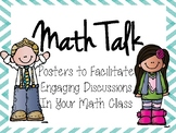 Math Talk Posters to Teach Literacy