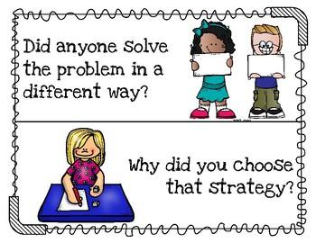 Math Talk Posters