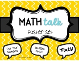 Math Talk Posters - Get your Students Talking about Math