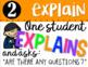 Math Talk Posters - Solve, Explain, Question, Justify