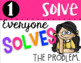 Math Talk Posters - Solve, Explain, Question, Justify