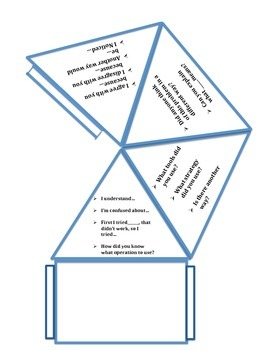 Accountable Talk 3D Pyramid Discussion starters