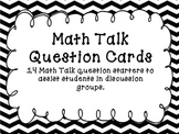 Math Talk Question Cards