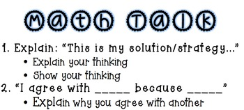 Math Talk- Questioning