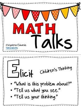 Math Talk Questioning Stems