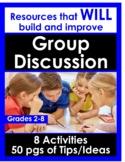 Math Discussion Resources - Grades 3-12!