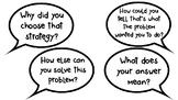 Math Talk Sentence/Question Stems