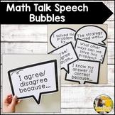 Math Talk Speech Bubbles